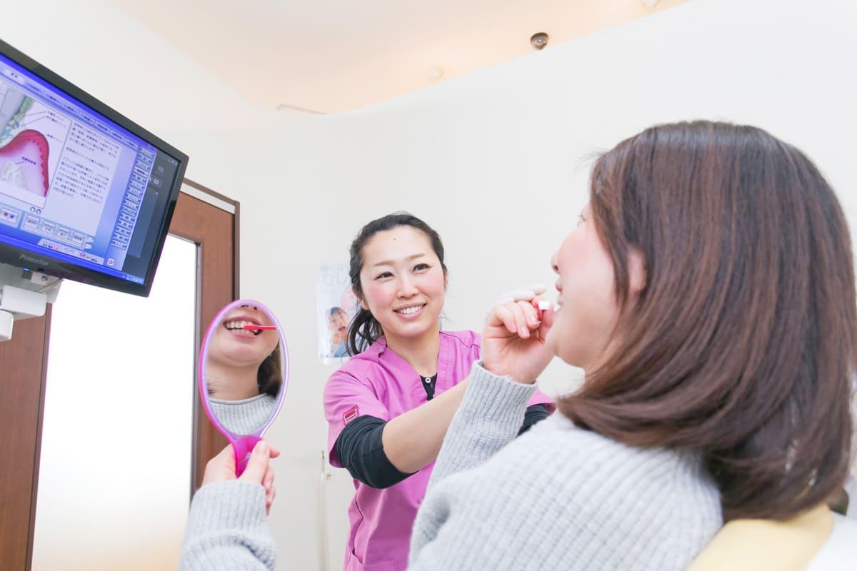 江東区東雲、豊洲の歯医者のキャナルコート歯科クリニック 予防歯科 PMTCの流れ・効果