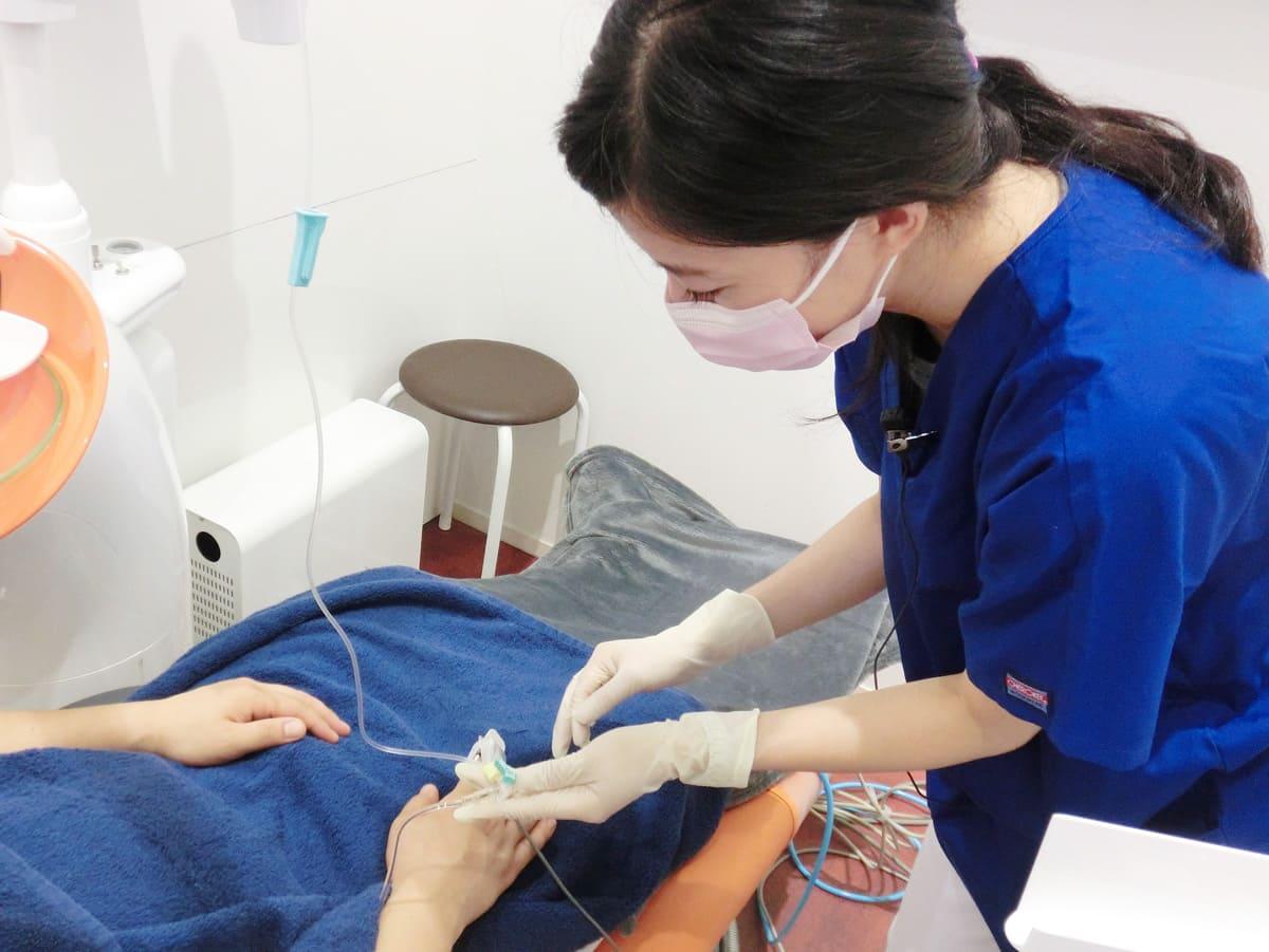 江東区東雲、豊洲の歯医者のキャナルコート歯科クリニック 静脈内鎮静法