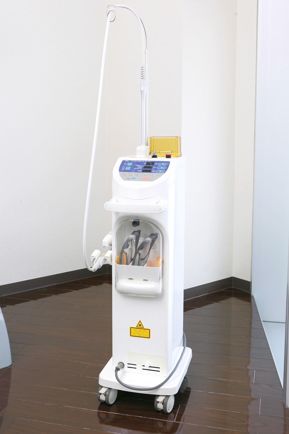 江東区東雲、豊洲の歯医者のキャナルコート歯科クリニック レーザー治療