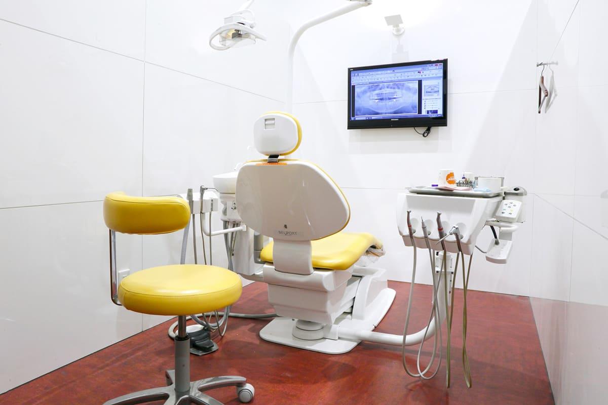 江東区東雲、豊洲の歯医者のキャナルコート歯科クリニック 診療室