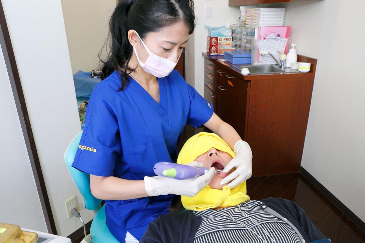 江東区東雲、豊洲の歯医者のキャナルコート歯科クリニック 静脈内鎮静法の流れ STEP3. ⻭ぐきの麻酔