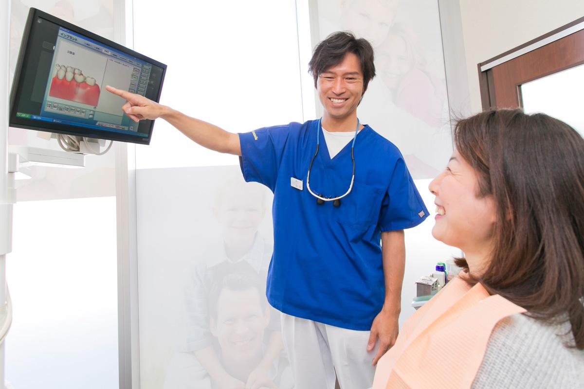 患者さまが心から満足できる治療を提案します
