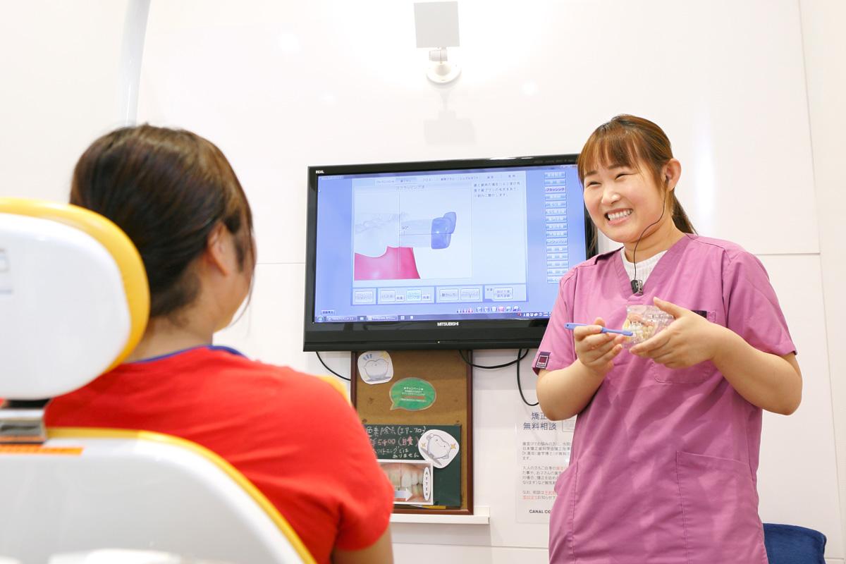 江東区東雲、豊洲の歯医者のキャナルコート歯科クリニック 予防歯科 むし歯には主に3つの原因があるといわれます。